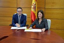 Firma convenio CH y AP de CM - DGOJ