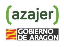 logos: Azajer y Gobierno de Aragón