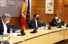 El Pleno del Consejo de Políticas del Juego, presidido por el Ministro de Consumo, Alberto Garzón Espinosa