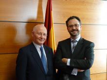 imagen Presidente ARJEL y Director General de la DGOJ