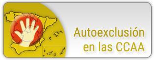 Nueva sección Registro de Autoexclusiones
