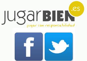 JugarBIEN en Facebook y Twitter